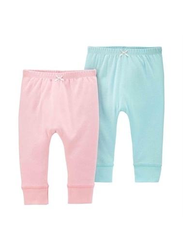 Carters Carter'S 2'Li Bebek Pantolonu Mavi